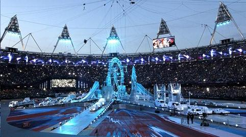 LONDON BIDS FAREWELL TO THE 2012 OLYMPIC GAMES