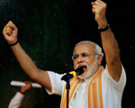 BJP propels Modi to centre stage of 2014 elections, appoints him poll panel chief