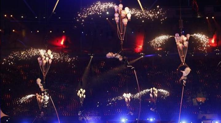 CLOSING CEREMONY ENDS AMAZING LONDON 2012 PRALYMPICS