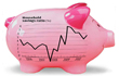 Britons stock up piggy bank in tough times