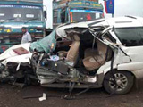 Police officer loses control over the wheel: Five killed