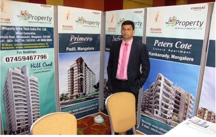 Rohan Corporation Mangalore participates in London Property Show