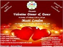 SKA LONDON�S 2017 VALENTINE�S DAY DINNER AND DANCE